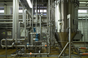 Filtration des Bieres