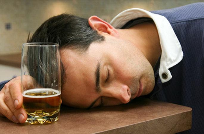 Wirkung des Alkohols