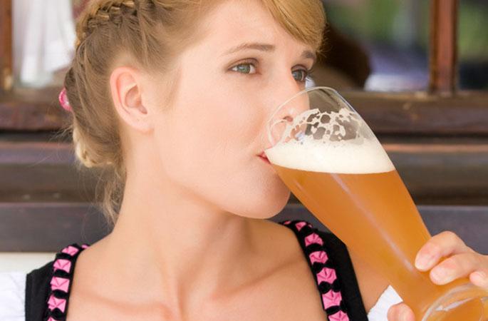 Bier genießen