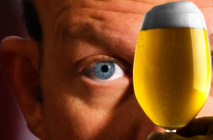 Bier unter der Lupe