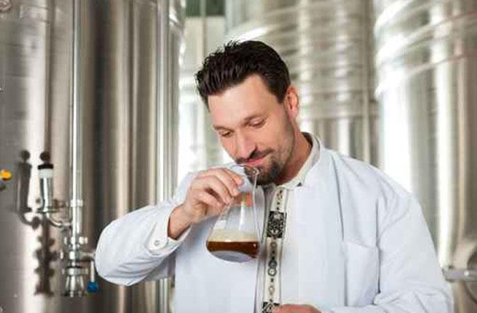 Geruch des Bieres