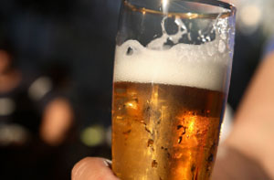 Ein leckeres Bier