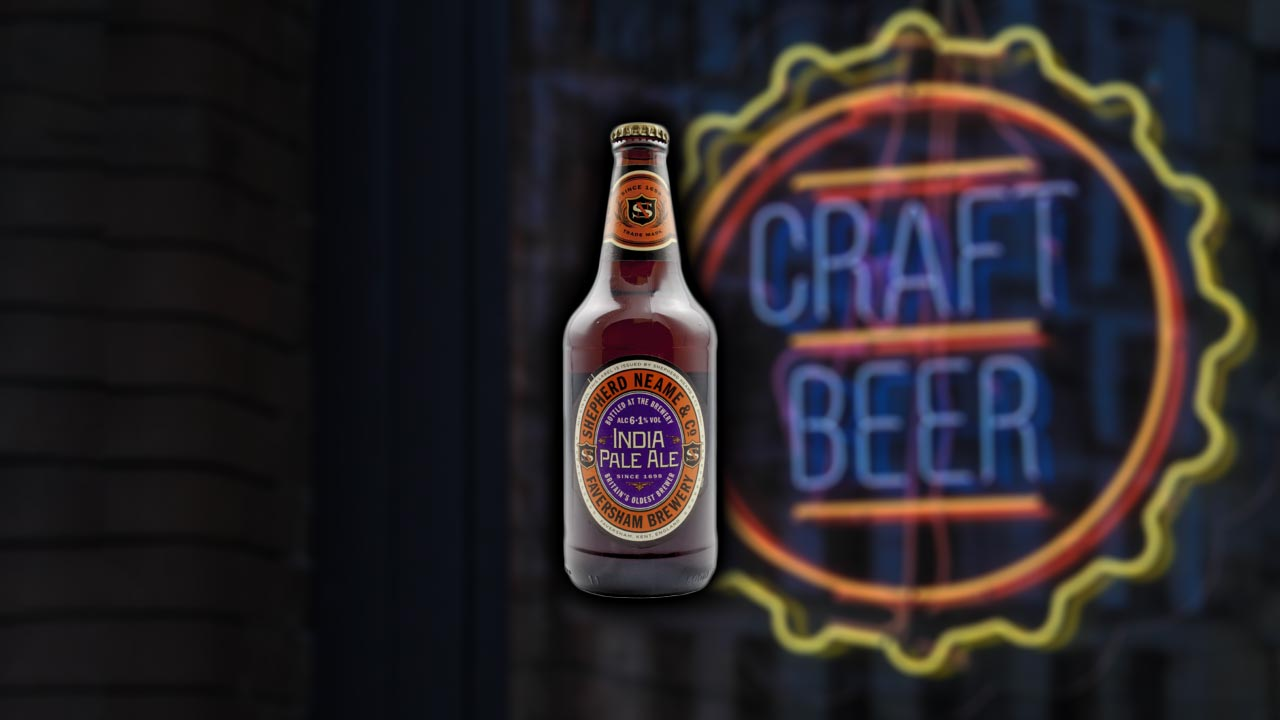 Bier.de Tasting: Shepherd Neame IPA