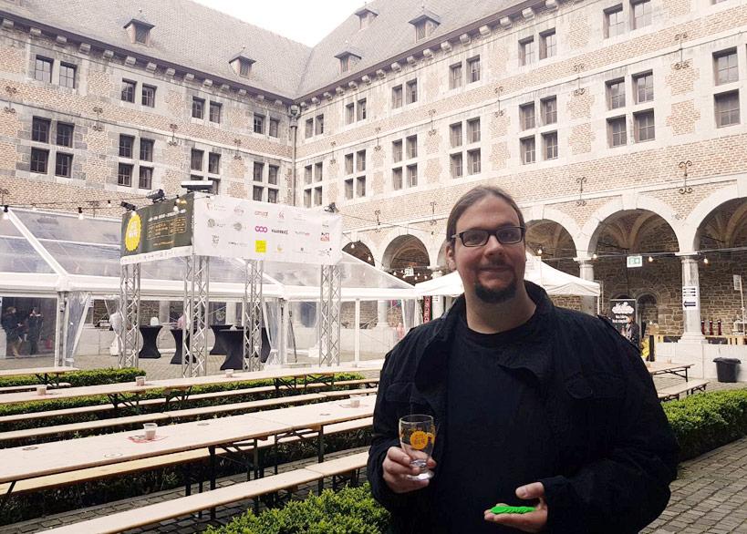 """Bier.de - Bierblog - Eine Sadt voller Bier - Bier.de auf dem Festival """"La Cité de la Bière"""" im Musée de la Wallonie in Lüttich"""
