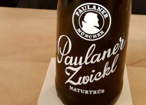 paulaner zwickl bier bayern
