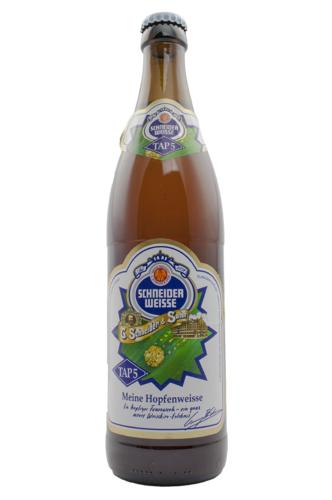 Bier.de Tasting: Schneider Weisse Meine Hopfenweisse TAP5