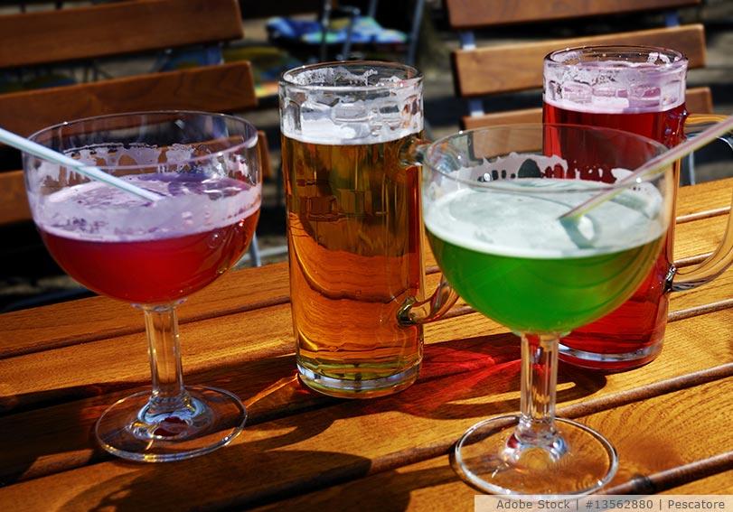 Biermixgetränke - damit kann man Bier mischen!